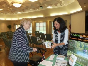 JJ with Springhill customer Oct 2014