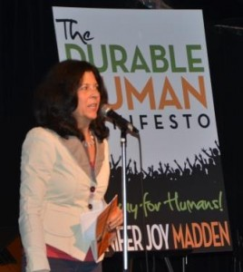Jenifer Joy Madden at the New Author Book Slam