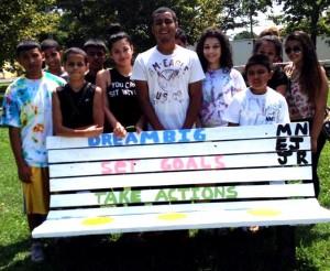 Park bench by Von Nieda  Student Leaders