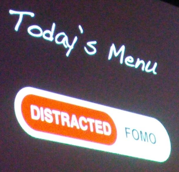 Distracted vs FOMO