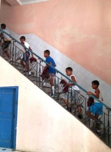 School Kids downtown Havana photo by Jenifer Joy Madden