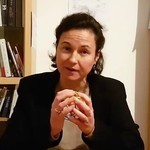Dr. Anne-Lise Ducanda manipulates toy ball
