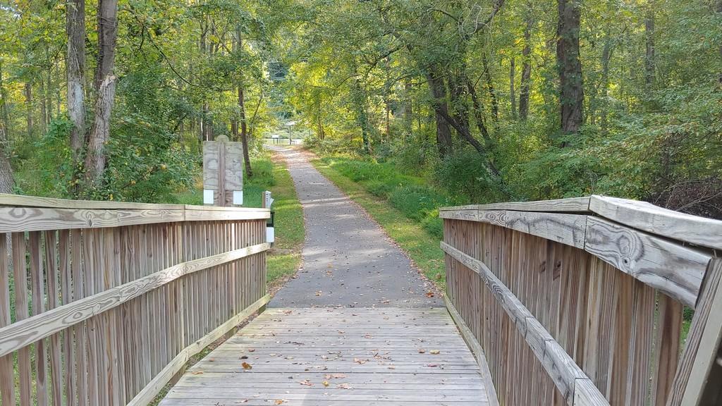 Meadowlark WOD Connector Trail Boardwalk