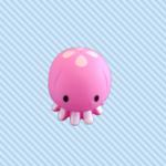 Baby chew toy octopus